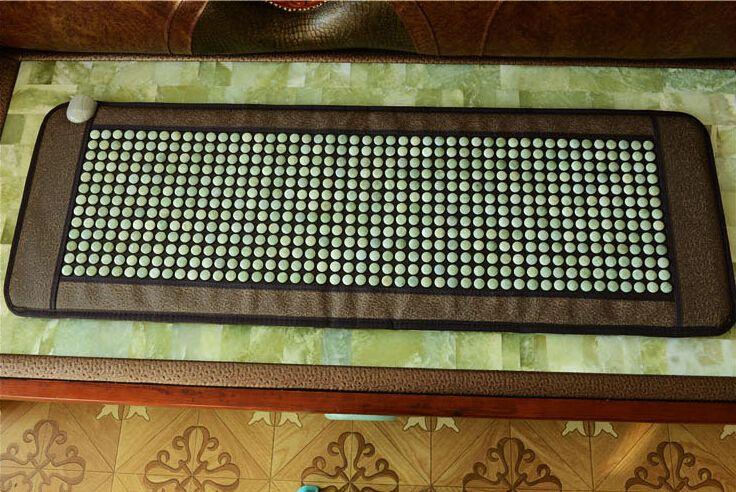 2015 New product! korea heating jade mat jade mattress tourmaline mat Hot jade stone heating cushion 50*150CM