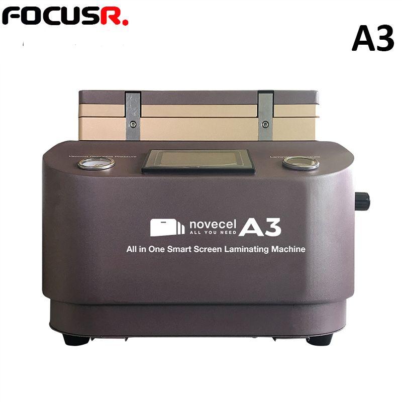 NOVECEL. A3 Vakuum Laminierung Maschine OCA laminator handy bildschirm reparatur LCD renovieren für iPhone rand luftblase entferner