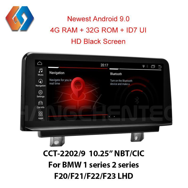 Auto GPS Touch Screen 4G Android 9.0 Für LHD BMW F20 F21 F22 F23 NBT CIC Unterstützung Alle OEM Funktionen und Verfügt Über Integrierte BT WiFi