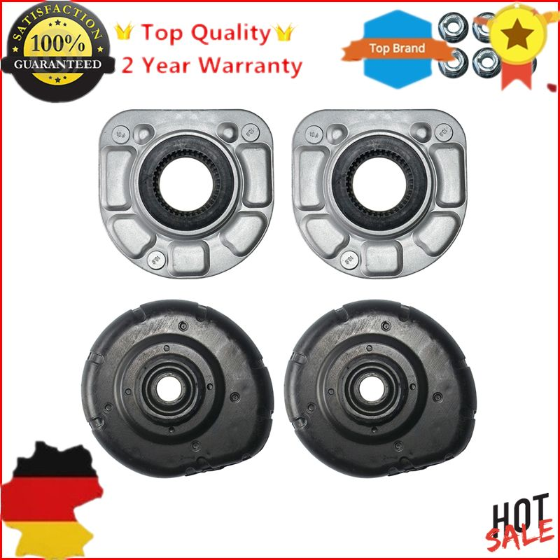4pc Top Front Strut Mount L+R For VOLVO S80 S70 V70 II S60 XC70 XC90 850 30714968 30683637 pair