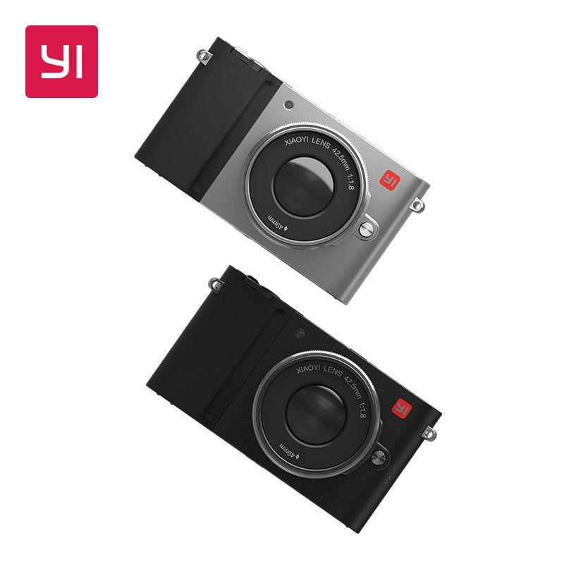 YI M1 Spiegellose Digital Kamera Mit YI 12-40mm F3.5-5.6 Zoom Objektiv LCD Internationalen Version RAW LCD 20MP video Recorder 720RGB