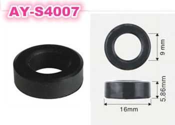 200pieces fuel injector Corrugated rubber seals o-ring for toyota size16*9*5.8mm (AY-S4007)