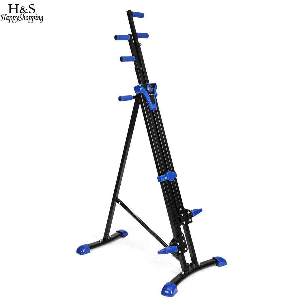 Clibming Machine Set Fitness Equipment Vertical Climber Stepper 2 In 1 Exercise Fitness Foldable Climbing Machine Stair
