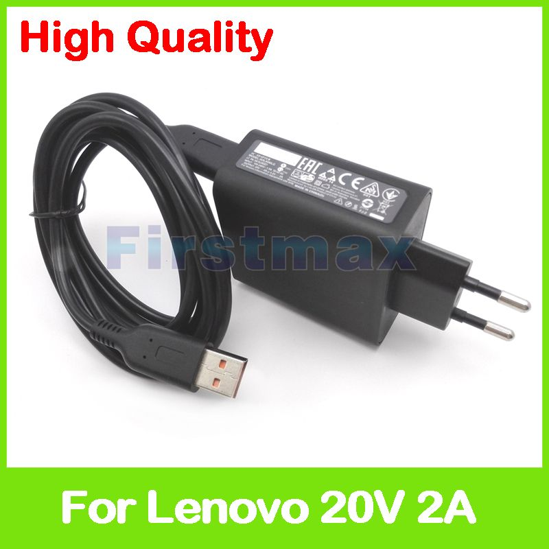 20V 2A 5.2V 2A USB AC Power Adapter for Lenovo Yoga 3 Pro 13-5Y70 13-5Y71 tablet pc charger 36200566 ADL40WCG ADL40WCH 36200567