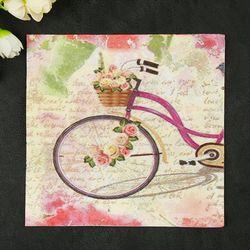 Neue Frische Blumen Papierservietten Cafe & Party Tissue Servietten Decoupage Dekoration Papier 33 cm * 33 cm 20 teile/paket/lot