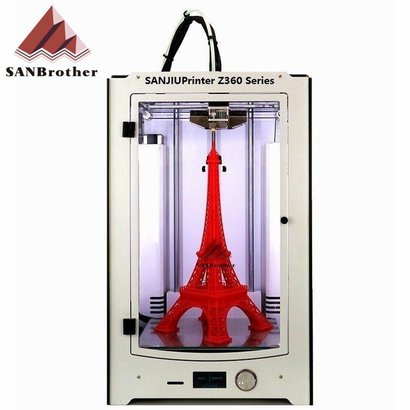 SANJIUPrinter3 Z360 3D Printer Newest 2016 DIY KIT For Ultimaker 2 UM2 Extended Auto Leveling 3D Printer Include All Parts.