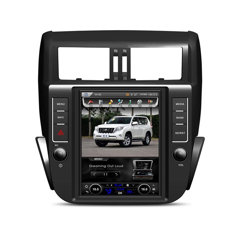 KLYDE 9,7 Android 6.0 1024*768 Vertikale Bildschirm Auto Radio Für TOYOTA Prado 150 LC150 2010-2013 Audio stereo Multimedia RDS DVR