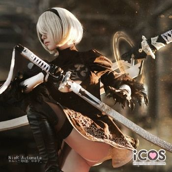 The Game Nier Automata 2B Custom Made Cosplay High Quality Cosplay +Free Shipping F