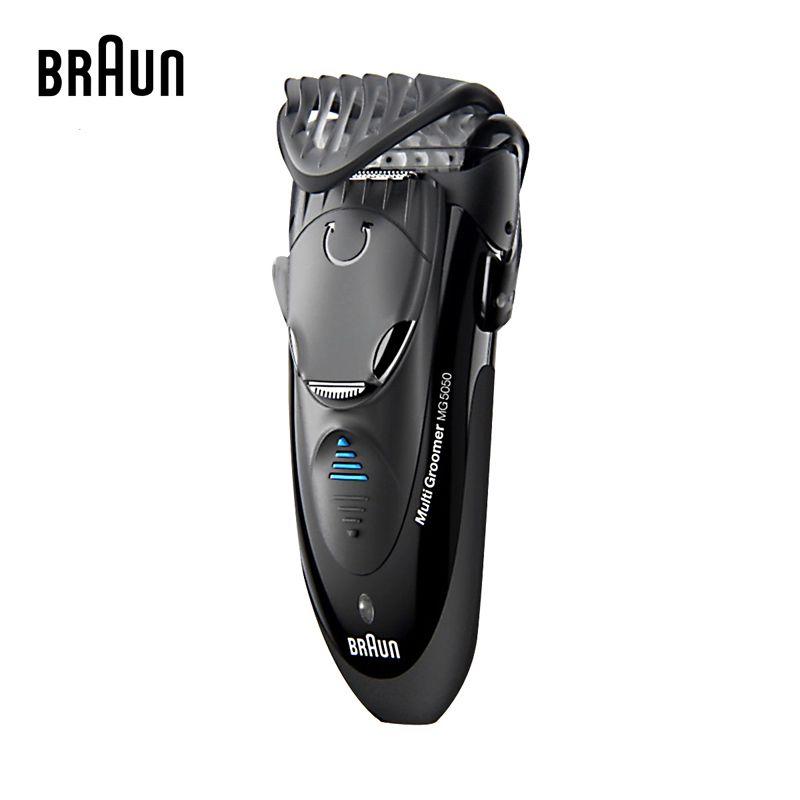Braun Elektrische Rasierer MG5050 Rasieren Maschine Elektrischen Rasierer für Männer Waschbar Universal spannung/Rasierer Minen