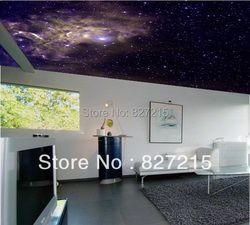 U-3129 космические облака печать герги танва декоративный материал с потолочный светильник Функция как потолочная панель