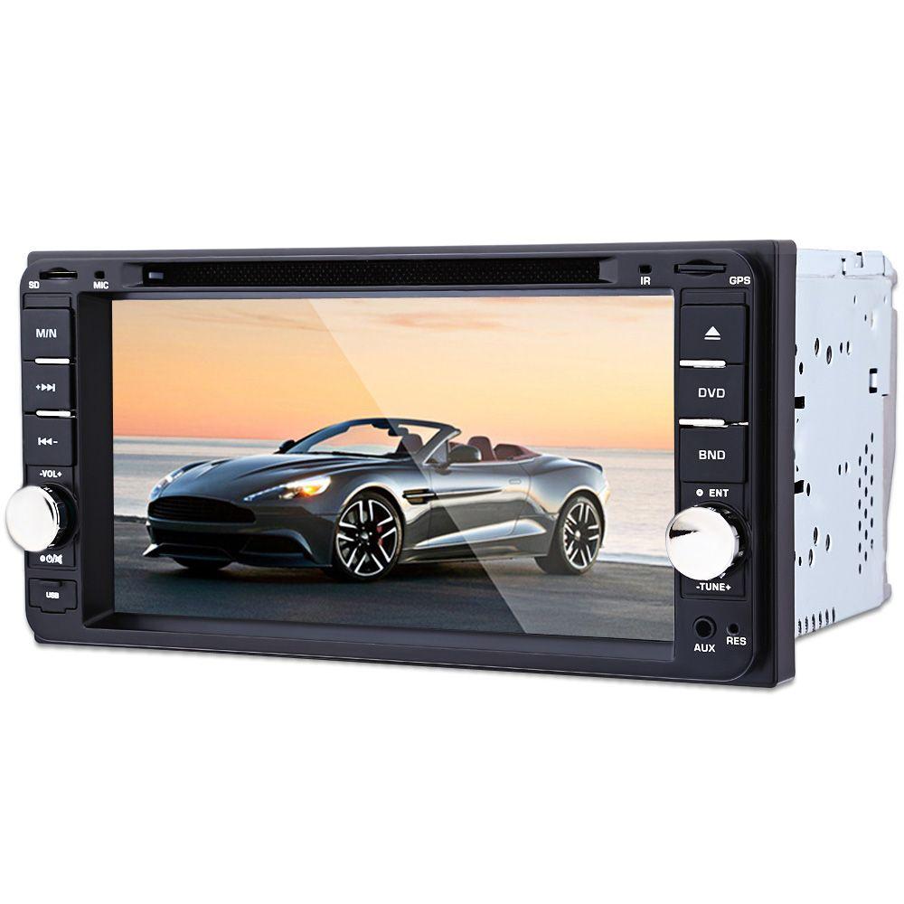 7 inch Car Multi-media Player 12V Auto Video Remote Control Intelligent GPS Navigation Function