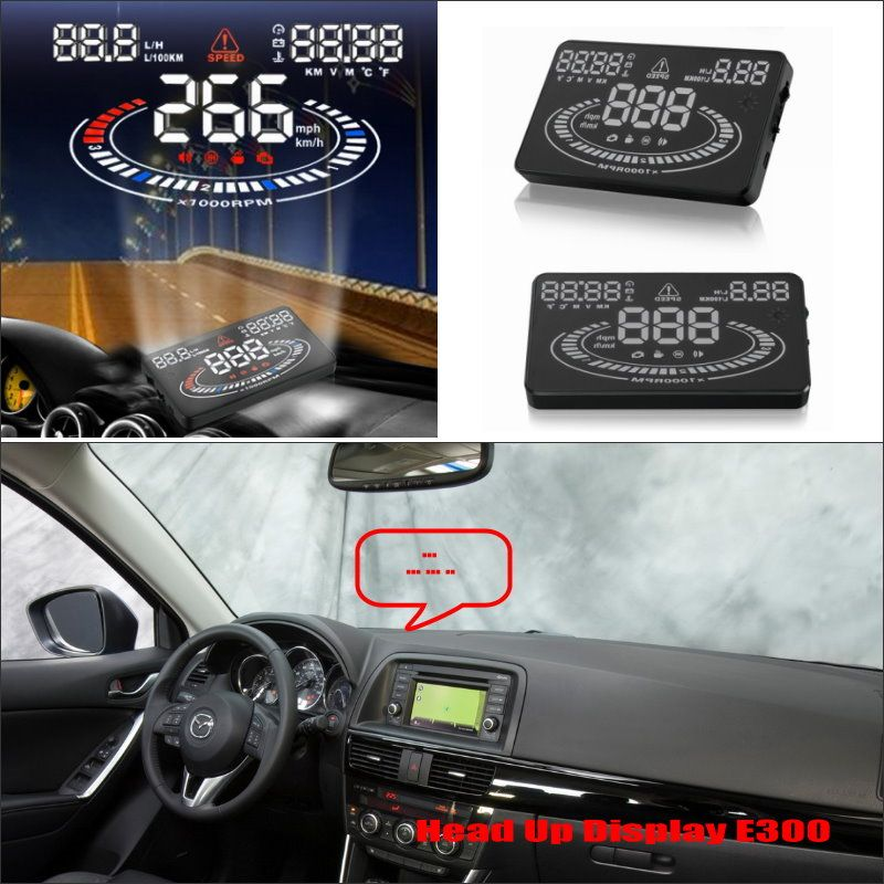 Liislee For Mazda CX-5 CX 5 CX5 - Safe Driving Screen Modified Car HUD Head Up Display Projector Refkecting Windshield