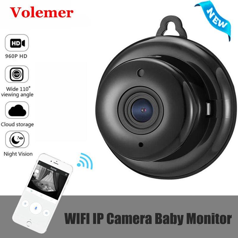 Volemer M1Q Mini caméra sans fil WIFI 960 P 2.8mm Full HD 1080 P Vision nocturne intelligente sécurité à domicile IP caméra vidéo prise en charge Onvif