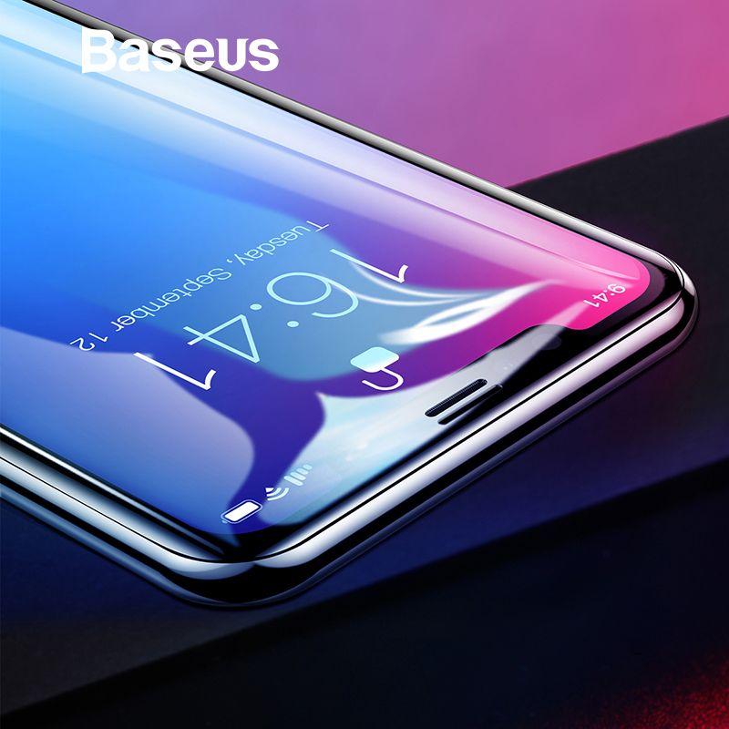 Baseus 0,2mm Schutz Glas Für iPhone Xs Xs Max XR 2018 Bildschirm Schutz Thin Volle Abdeckung Aus Gehärtetem Glas Film für iPhone Xs