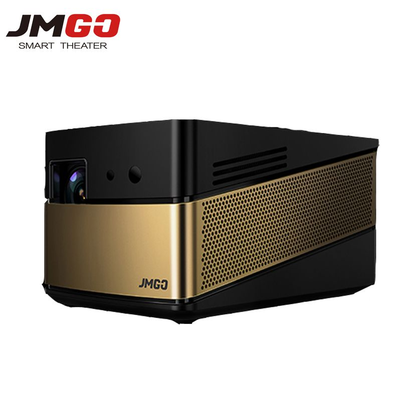 Jmgo V8 Mini Led Projecteur 5000 Lumens 1080 P Full HD Mini Projecteur 3D Builting Android Bluetooth WIFI Pour Home Cinéma Beamer