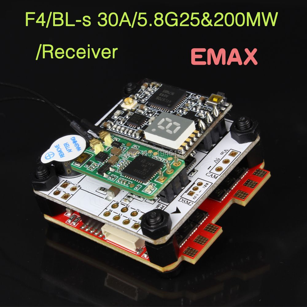 Original EMAX F4 Magnum Tower Flight controller OMNIBUSF4 Firmware For RC Racing Drone