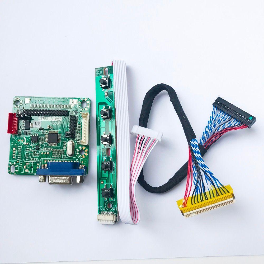 MT561-B 10 Pouce À 42 Pouce 5 V Universel large LVDS LCD carte de Pilote de Moniteur Carte Contrôleur Avec Câble