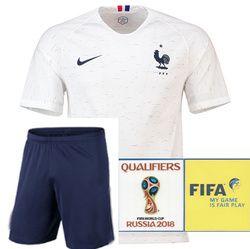 2018 2019 nouveau Français Maillots de football ensemble camisetas chemise survetement homme Football shirt kit