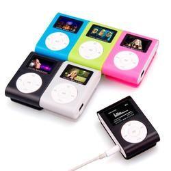 2018 MP3 плеер USB зажим мини LCD экран Поддержка 32 Гб микро SD карты памяти