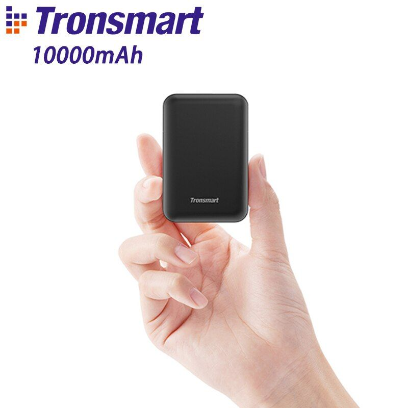 Tronsmart PB10 mini batterie externe 10000 mah charge rapide batterie externe chargeur portable avec led Affichage pour iPhone, Samsung, xiaomi