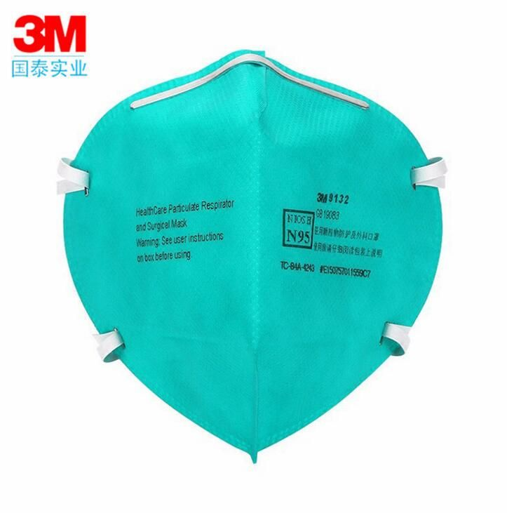 3M medical mask 9132 N95 protective mask anti-influenza virus bacteria bacteria male and female breathable