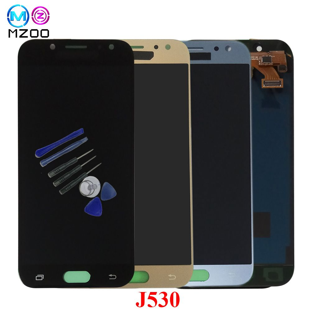 Mzoo J530 lcd For SAMSUNG Galaxy J5 Pro 2017 J530F SM-J530F LCD Display Touch Screen Digitizer for samsung j5 pro free shipping