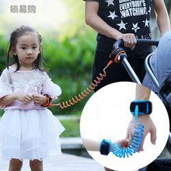 Enfant Bébé Enfant Harnais de Sécurité Coupe Continue Enfant Laisse Anti Perdu-Bracelet Lien De Traction Corde Locktraction CZL8057