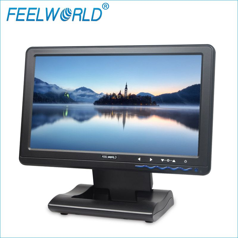 Feelworld DP101T 10,1 Zoll IPS 1024x600 LCD Touch Screen USB Powered-Monitor 10,1 LCD USB Touch-monitore