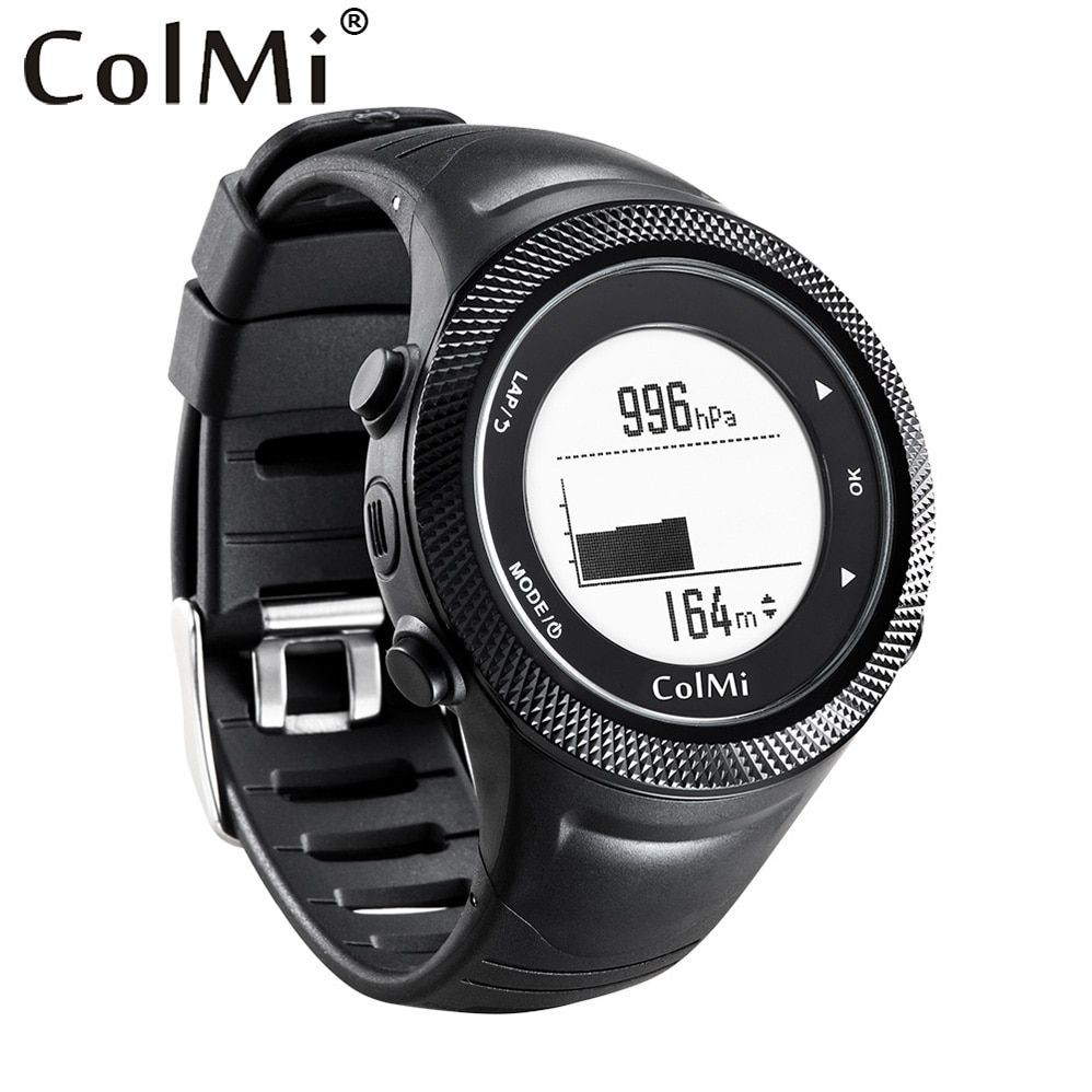ColMi Smart Watch GPS location 5ATM IP68 Waterproof Pressure Temperature Altimeter Compass G-senser Men Tracker for Android IOS
