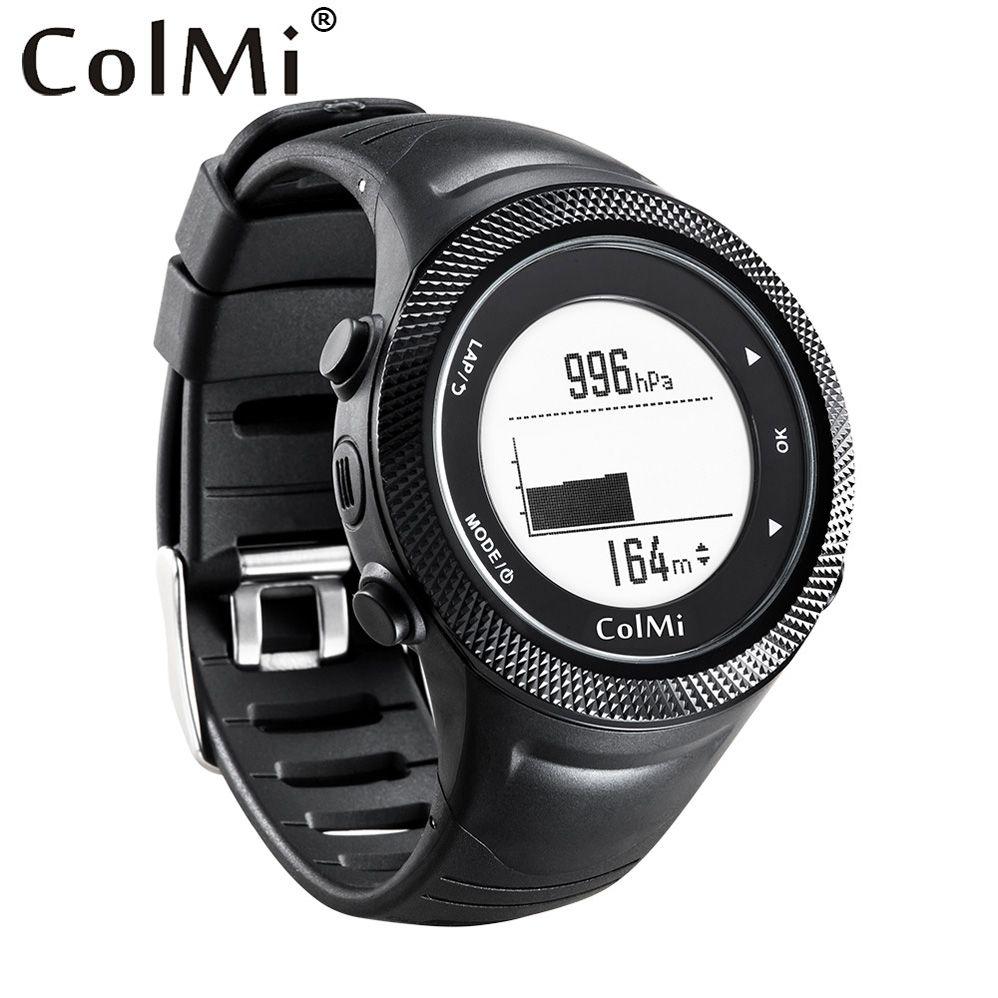 Colmi Смарт-часы GPS местоположение 5atm IP68 Водонепроницаемый Давление Температура высотомер Компасы G-Senser Для мужчин трекер для андроид iOS