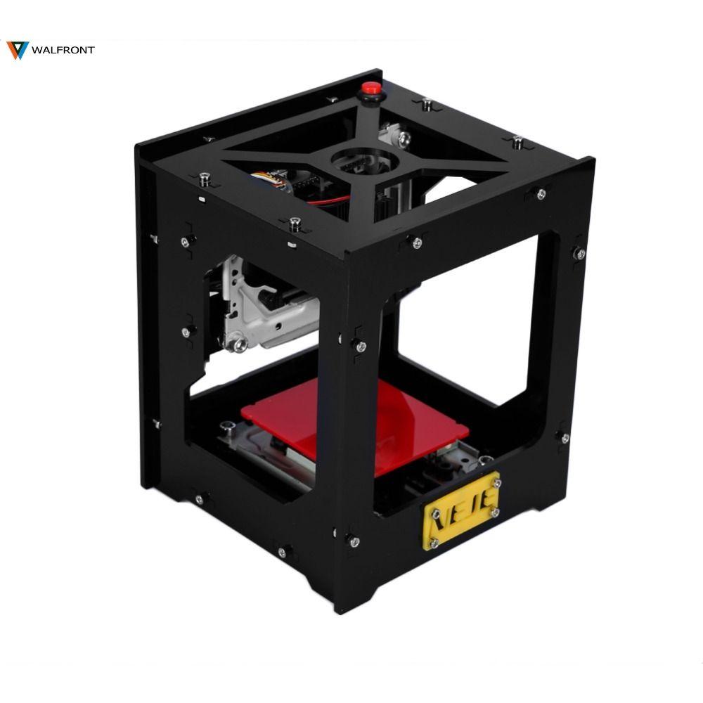 1Pcs DK-8-KZ NEJE 1000mW USB Engraving Machine Automatic DIY Print Laser Engraver Wood Laser Engraver Off-line CNC Operation