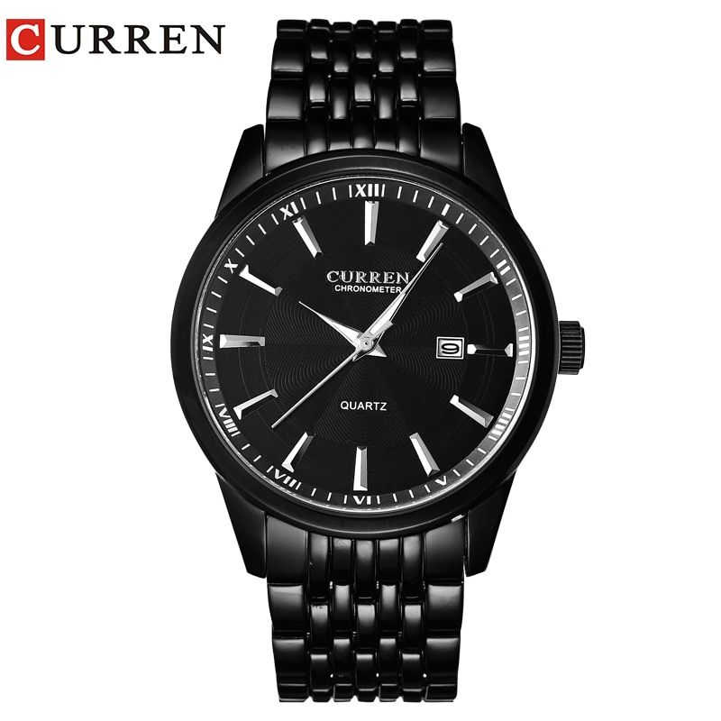 CURREN Watches Men Luxury Brand Business Casual Watch Quartz Watches <font><b>relogio</b></font> masculino8052