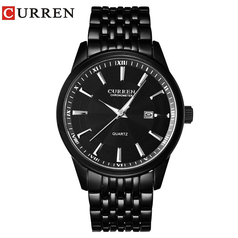 CURREN Watches Men Luxury Brand <font><b>Business</b></font> Casual Watch Quartz Watches relogio masculino8052