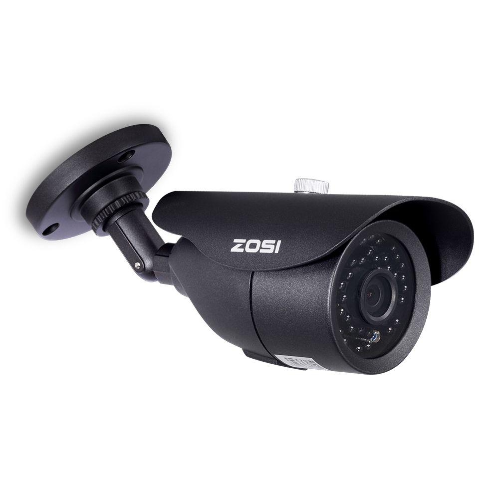 ZOSI HD 960 H 1000TVL CMOS 42 pièces IR led haute résolution jour/nuit étanche intérieur/extérieur caméra CCTV avec support