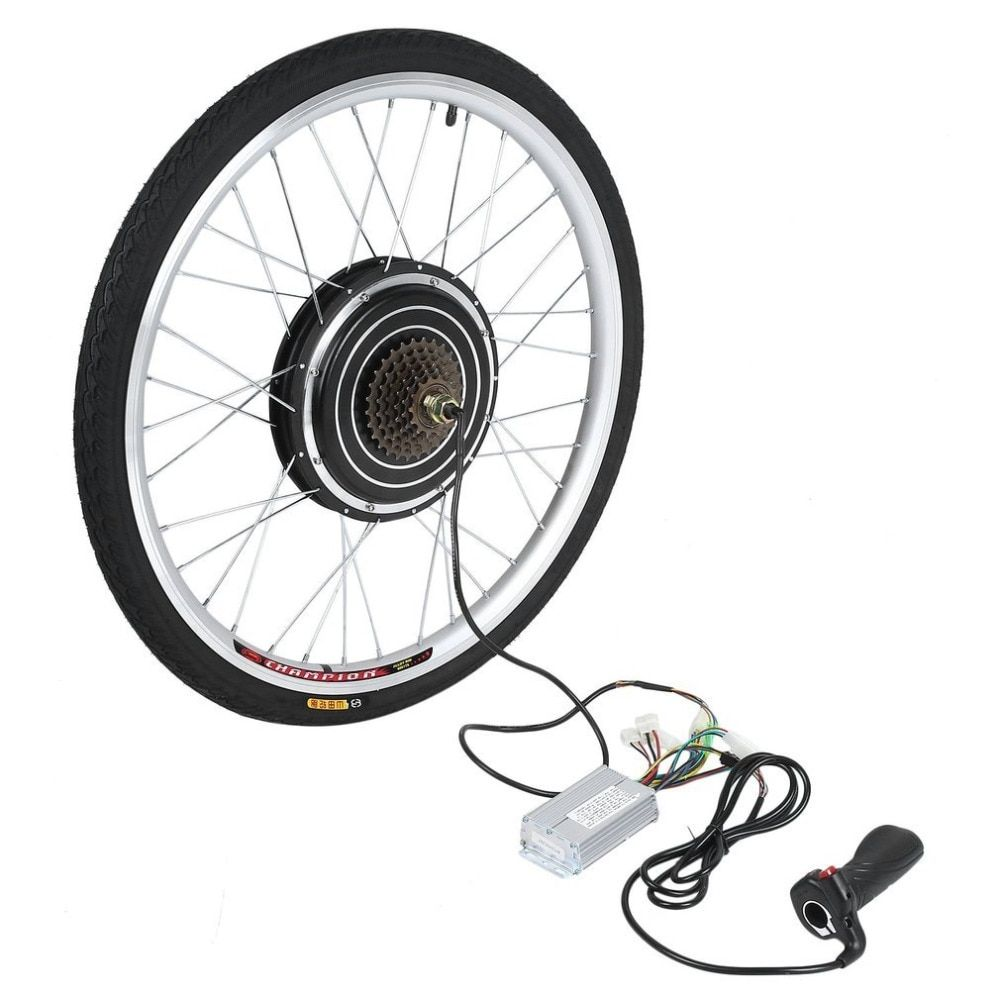 New 36V 250W Electric Bicycles E-Bike 26inch Rear Wheel Conversion Kit Cycling Brushless Motor Best Replacement