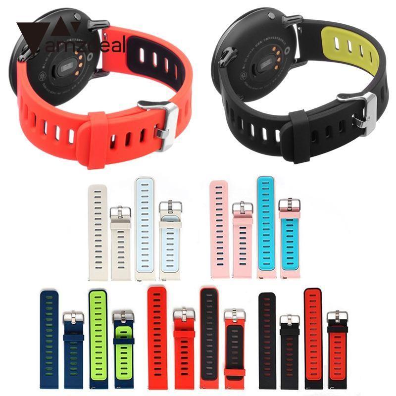 Amzdeal Neue Ersatz Weichen Silikon Band Handschlaufe Armband Langlebig Für AMAZFIT Sport Smart Uhr Armband