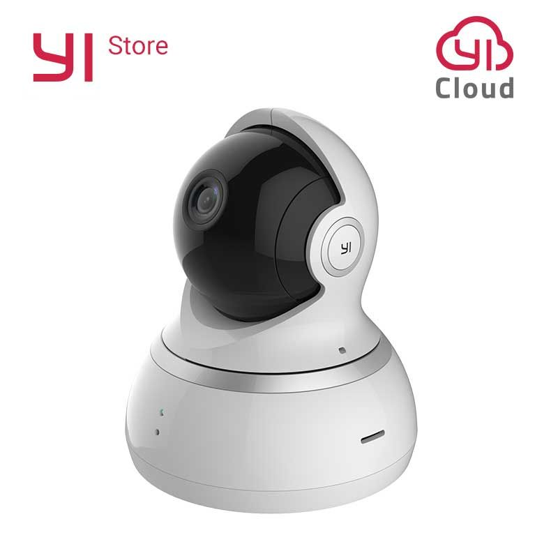 YI Dome Camera 1080P Pan/Tilt/Zoom Wireless IP Baby Monitor Security Surveillance System 360 Degree Coverage Night Vision Global