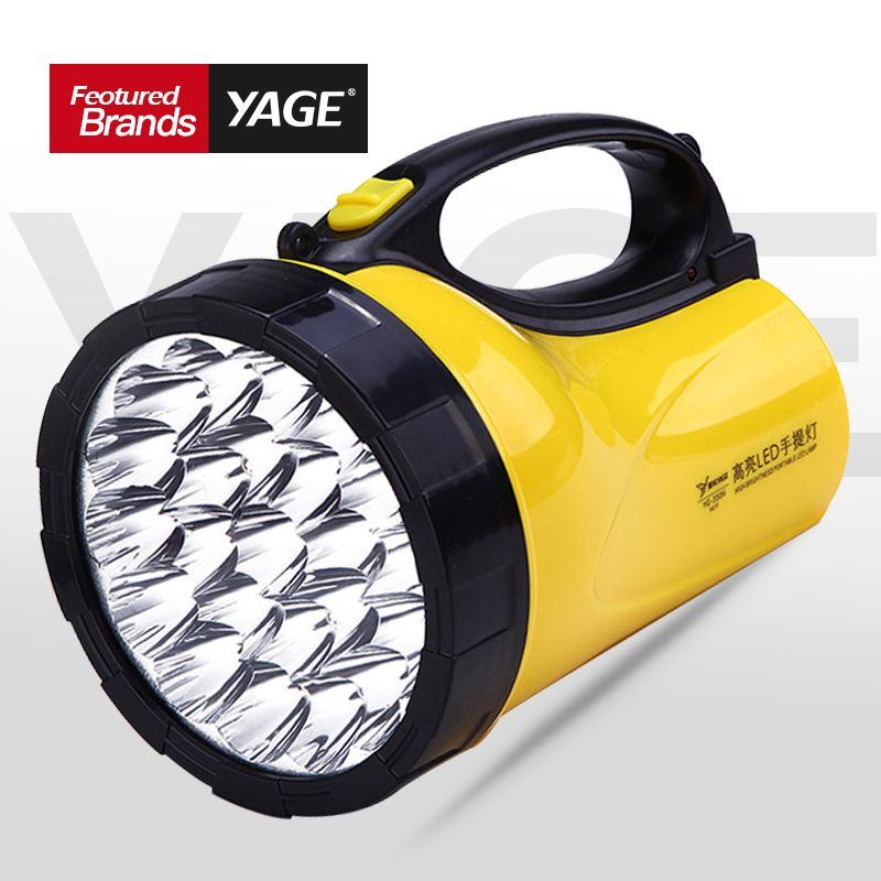 YAGE portable light led spotlights camping lantern searchlight portable spotlight handheld Flashlight night lamp light YG-3506