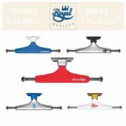 2 Pcs Asli Royal Skateboard Truk 5.25
