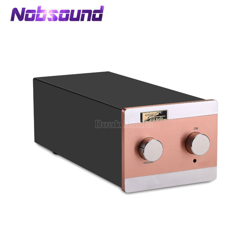 Nobsound EAR834 MM (Moving Magnet)/MC (Moving Coil) RIAA JJ 12AX7 Rohr Phono Bühne Plattenspieler Preamp HiFi Stereo Pre-verstärker