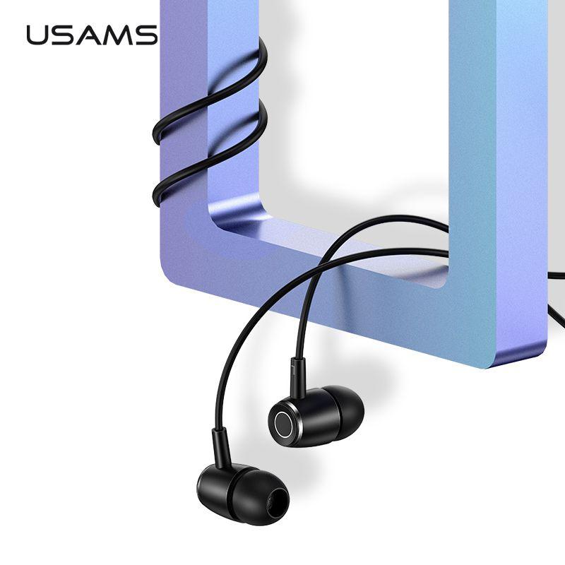 EP-26 Tiffany Blau in-ohr Metall Kopfhörer, USAMS 3,5mm Hifi Ohrhörer Bass Kopfhörer Stereo Headset inear Verdrahtete Ohr telefon Mit Mic