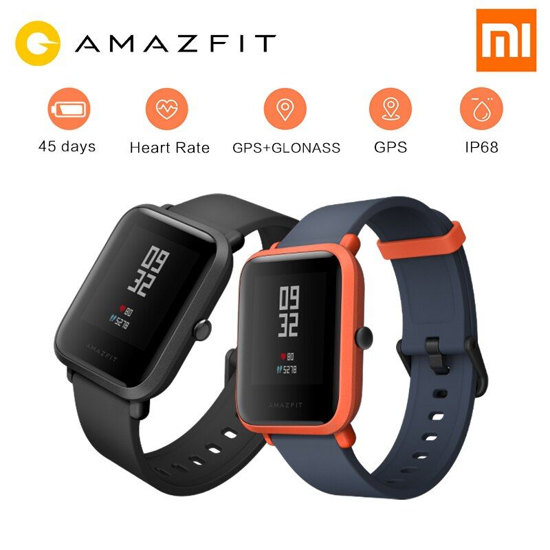 Xiaomi Huami Amazfit Pace Bip BIT Youth Version Sports Smart Watch GPS Tracker GLONASS Compass 45 Days Standby Heart Rate#C0