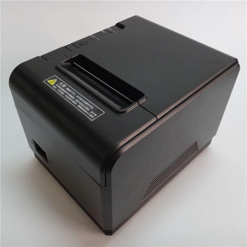 Großhandel 80mm thermodrucker hochwertigen empfang Kleine ticket barcode POS drucker Aussehen mode haben Automatische cutter