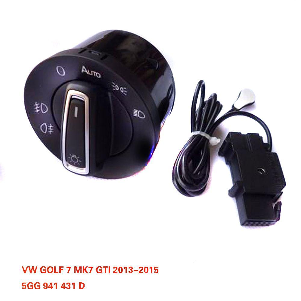 Mise à niveau automatique de module de commutateur de capteur de lumière principale de TUKE pour VW GOLF 7 MK7 2013-2015 5GG 941 431 D