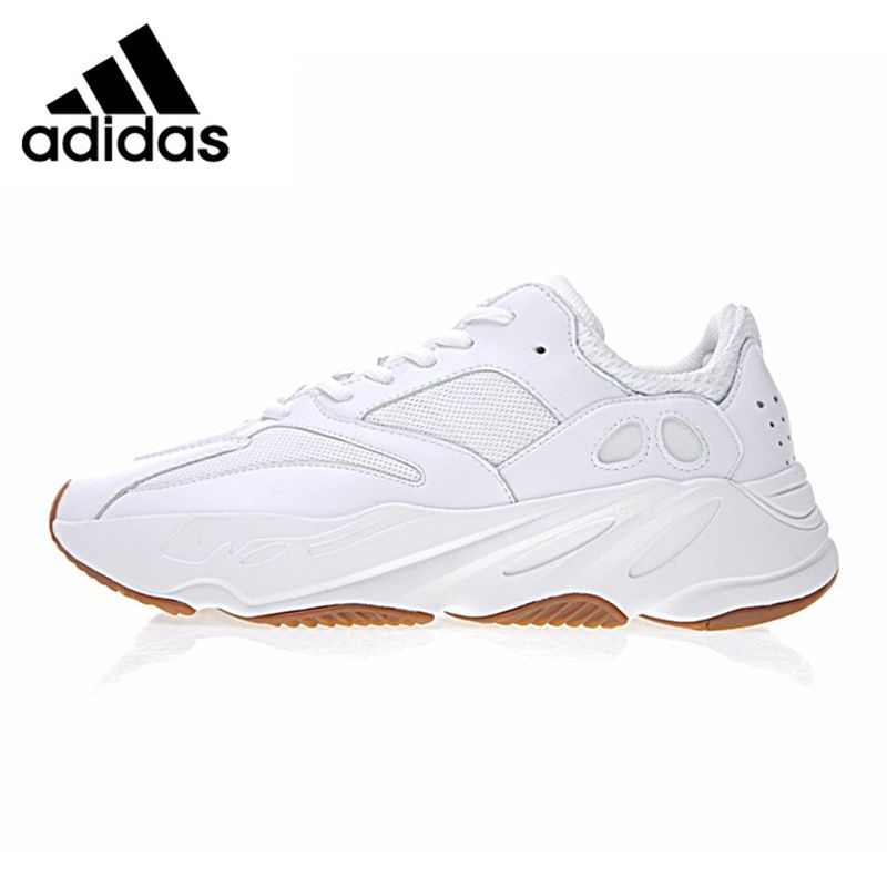 Adidas Yeezy 700 Men's Running Shoes, White/Black, Shock-absorbing Lightweight Non-slip Abrasion Resistant B75582 B75576