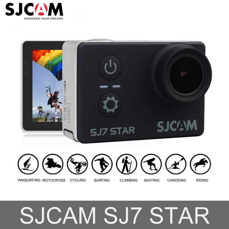 100% Original SJCAM SJ7 STAR WiFi 4K GYRO Touch Screen Car Mini DVR Ambarella A12S75 30M Waterproof Remote Sports Action Camera