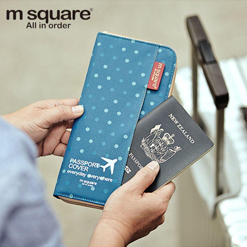 Women Men Fashion Travel Passport Holder <font><b>Organizer</b></font> Cover ID Card Bag Passport Wallet Document pouch Protective Sleeve PC0002