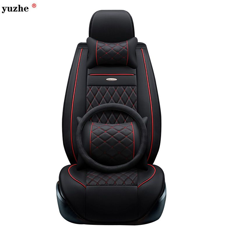 Yuzhe leather car seat cover For Toyota Honda Nissan Mazda Lexus Jeep Subaru Mitsubishi Suzuki Kia Hyundai Ssangyong accessories