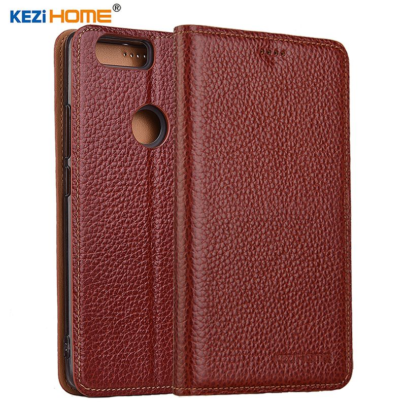 for Nubia Z17 case Flip genuine leather soft silicon back cover for ZTE Nubia Z17 <font><b>lite</b></font> coque