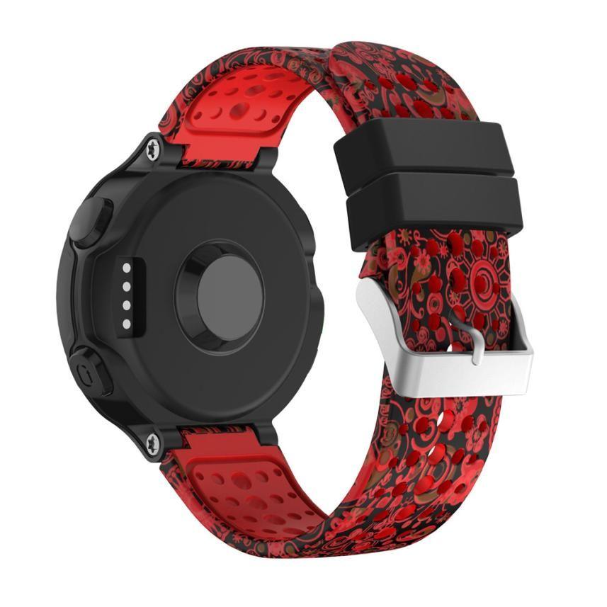 CARPRIE Uhr Band Ersatz Silicagel Weiche Für Garmin Forerunner 235 GPS Uhr JA05